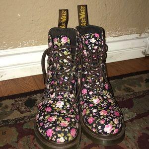 Dr. Martens Shoes Nwot Floral Doc Martens Boots